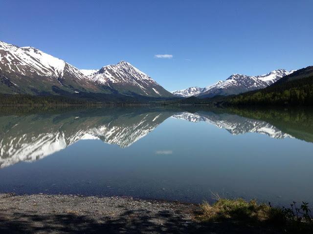 Kenai Mountains Reflection